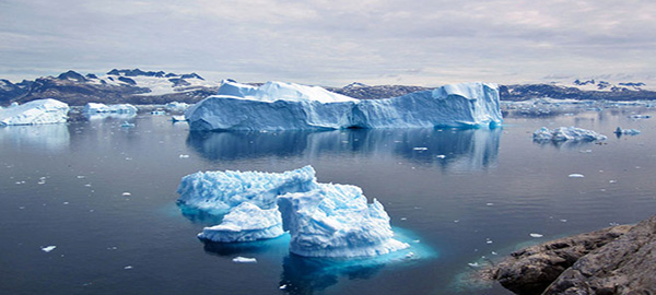 Iceberg al largo della Groenlandia