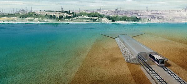 Istanbul: inaugurato il tunnel sottomarino del Bosforo
