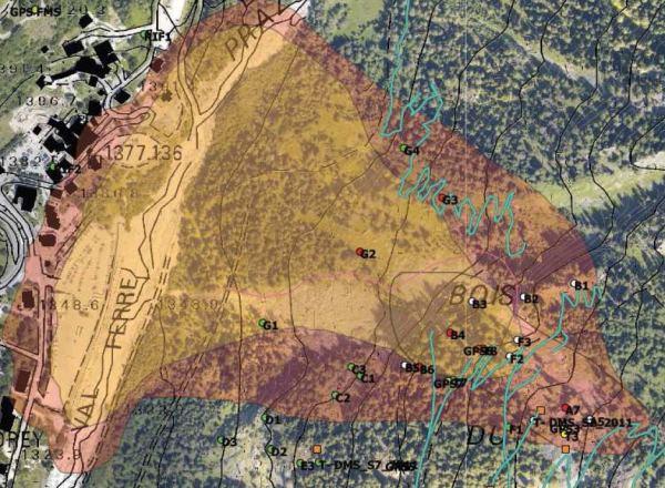 Frana del Mont de la Saxe: ampliata l'area di evacuazione