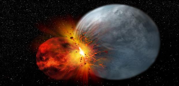 Nuove evidenze sull'origine della Luna