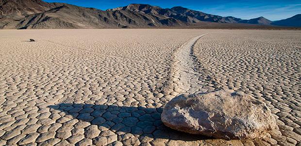 Le rocce che camminano