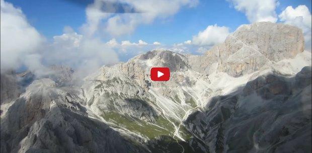 La storia delle Dolomiti
