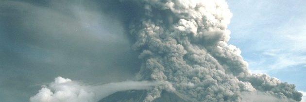 Il risveglio del Vulcano Mayon